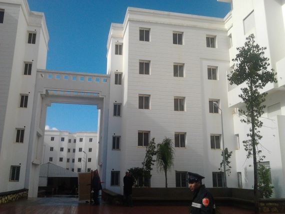 Picture showing one of the Moroccan Housing projects. The completed units are planned to be occupied by 60% low income earners while 40% will be occupied by middle income earners.